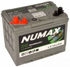 Numax 80amp Leisure Battery