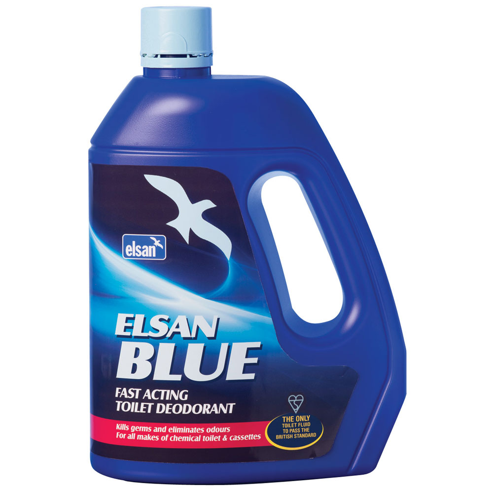 2ltr Elsan Blue Toilet Chemical
