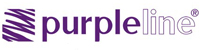 Purple line logo